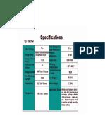 Li-Ion - 160AH Spec