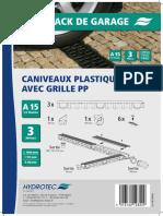 BROCHURE COMMERCIALE - PACK DE GARAGE 3 CANIVEAUX PLASTIQUES AVEC GRILLES PP HYDROTEC.pdf