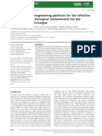 A Novel Genetic Engineering Platform for the Effective Management of Biological Contaminants for the Production of Microalgae