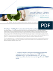 WHITEPAPER Business Case for Cloud Contact Centres