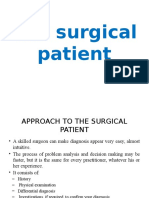 Approach to Surgical Pt