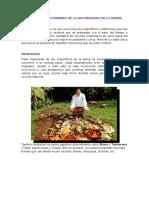 Tradiciones y Costumbres de La Gastronomia en El Peru