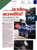 """NOVO RENAULT ZOE Z.E. 40 NA """"GADGET & PC"""""""