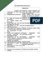 List of Pioneer Industries (2)