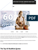 The Top 60 Buddha Quotes