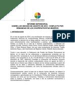Informe Defensorial Conflicto Minero Cooperativistas
