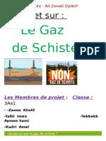 Projet Sur Le Gaz de Schiste