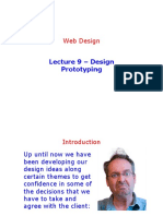 Lecture 9 - Prototyping