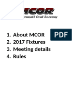 Mcor Full Club Details