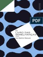 O Livro Das Semelhancas - Ana Martins Marques