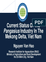 Current Status of Pangasius Industry Mekong Delta VN