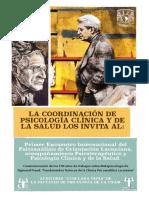 1er Encuentro Internacional Del Psicoanalisis de Orientacion Lacanianaa