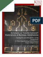 Burmese Abhi Dhamma Programme