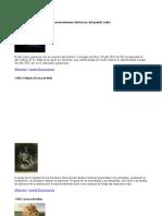Acontecimientos Históricos Del Pueblo Judío