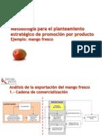 METODOLOGÍA PARA EL PLANTEAMIENTO ESTRATÉGICO DE PROMOCIÓN POR PRODUCTO