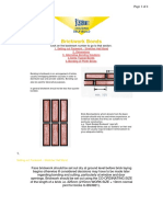 Brickwork Layout Patterns