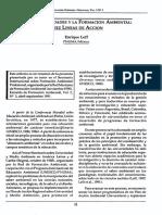 Las Universidades y La Formacion Ambiental