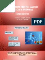 Relacion Entre Salud Fisica y Mental