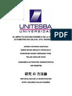El Impacto Socioeconómico de La Industria Automotriz en Celaya (Verifin)