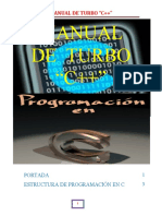 Manual de Turbo c++