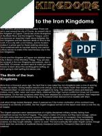 Iron Kingdoms - Iron Kingdoms and Realms