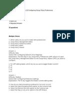 70-411 R2 Test Bank Lesson 22