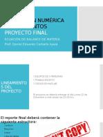 Presentación Proyecto Final SNY