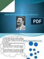 Abraham Harold Maslow 1908-1970