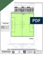 P.tribunas de un estadio plano