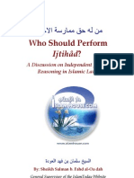 Who Should Perform Ijtihad