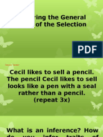 Inferring the General Mood of the Selection