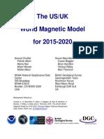 WMM2015 Report