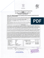 Market Development and Promotion of Solar Concentrators Based Project Document