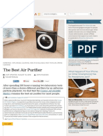 The Best Air Purifier | The Sweethome