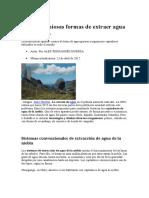 Cinco Ingeniosas Formas de Extraer Agua de La Niebla (1)