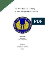 Fatahar Rizky 154060006395 Financial Architecture