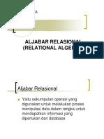 Relasi Algebra