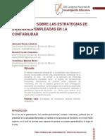 EVALUACIÓN SOBRE LAS ESTRATEGIAS DE ENSEÑANZA EMPLEADAS EN LA CONTABILIDAD