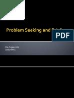 01 Problem Seeking