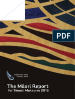 The Māori Report for Tāmaki Makaurau 2016