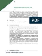 Determinación de Ph y Acidez Titulable Total