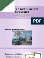 Equipos e Instrumental Quirurgico