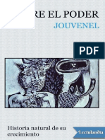 Sobre El Poder - Bertrand de Jouvenel