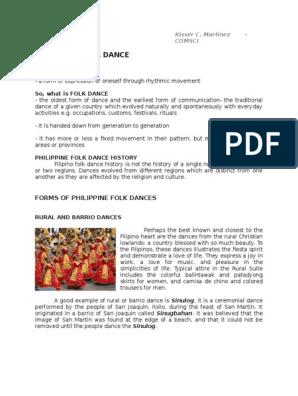 PE - Folk Dance | Philippines | Music