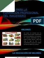 Valores para la formación PROFESIONAL DEL INAGENIERO.pptx