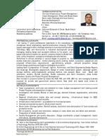 Urban Development Specialist Sample - CV