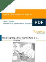 DAMA-Reference Logical Data Models for Agile BI