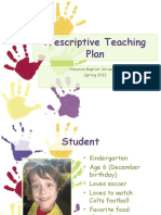 sample prescriptive teaching plan  1