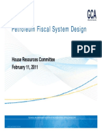 2 11 2011 HRes Petroleum Fiscal System Design Gaffney Cline Associates1