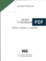 VARCARCEL, A., Sexo y filosofia. Sobre mujer y poder. Anthropos, 1994.pdf